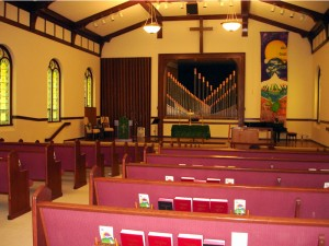 Sanctuary - Rental Spaces Available - Riverside Church of Christ in Hood River